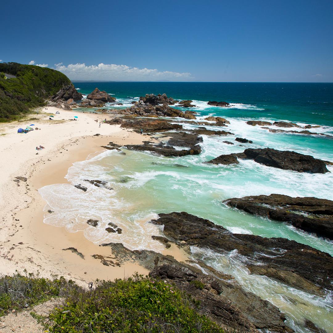 Private Beaches: Forster Grange
